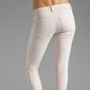 CURRENT ELLIOTT The Stiletto MARBLE TAFFY Jeans